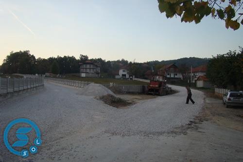 Pregedate slike iz ?lanka: Rekonstrukcija puteva u Vitinici
